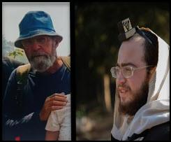 """הרב פשווזמן ומשה פדר הי""""ד צילום מסך"""