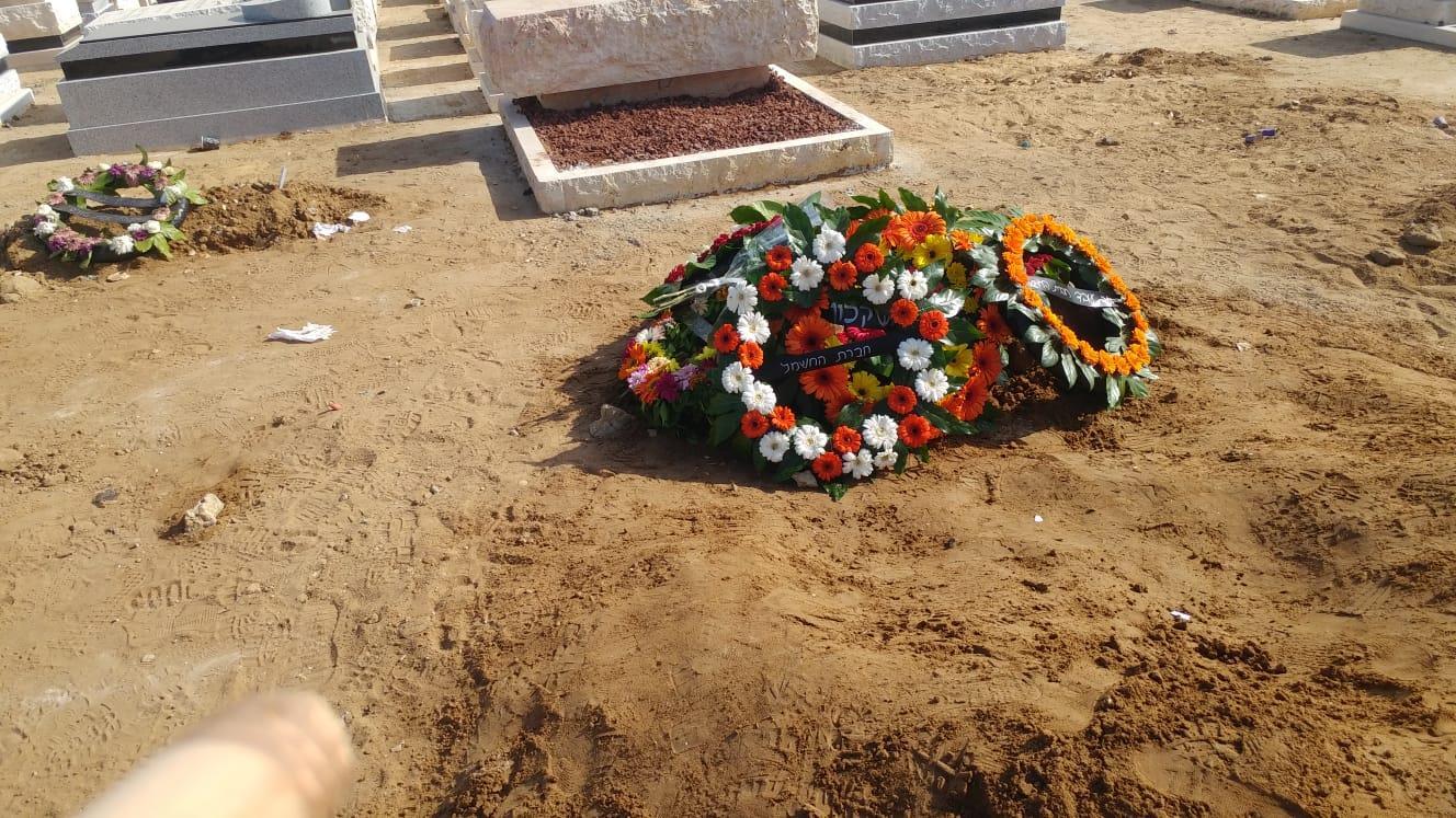 קברו הטרי של משה אגדי (רן כרמי בוזגלו - ציונות בנחישות)