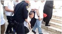 צפו: ילדים יהודים עוכבו בהר הבית