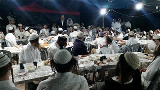 מאות בחורים בחומש בשבת ארץ ישראל