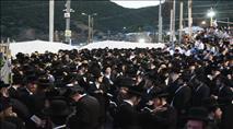 מאות אלפים בחגיגות במירון