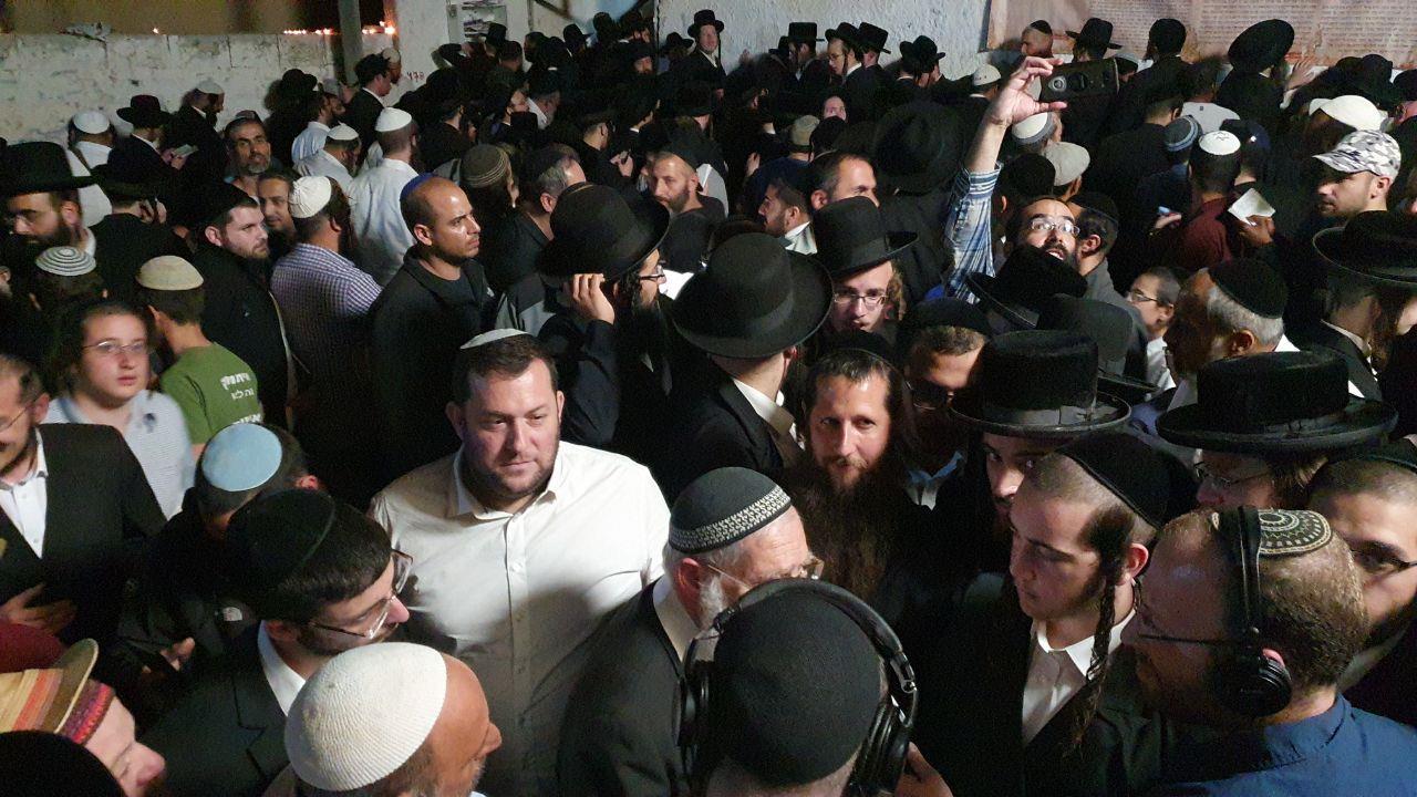 """הכניסה לקבר יהושע (צילום: מוא""""ז שומרון)"""