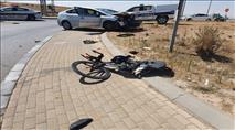 בדואי פרץ מחסום והתנגש ברוכב במירוץ אופניים