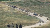 כוחות משטרה ומנהל הרסו גבעה חדשה בשומרון