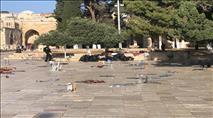 יום ירושלים: התפרעויות המוניות בהר הבית