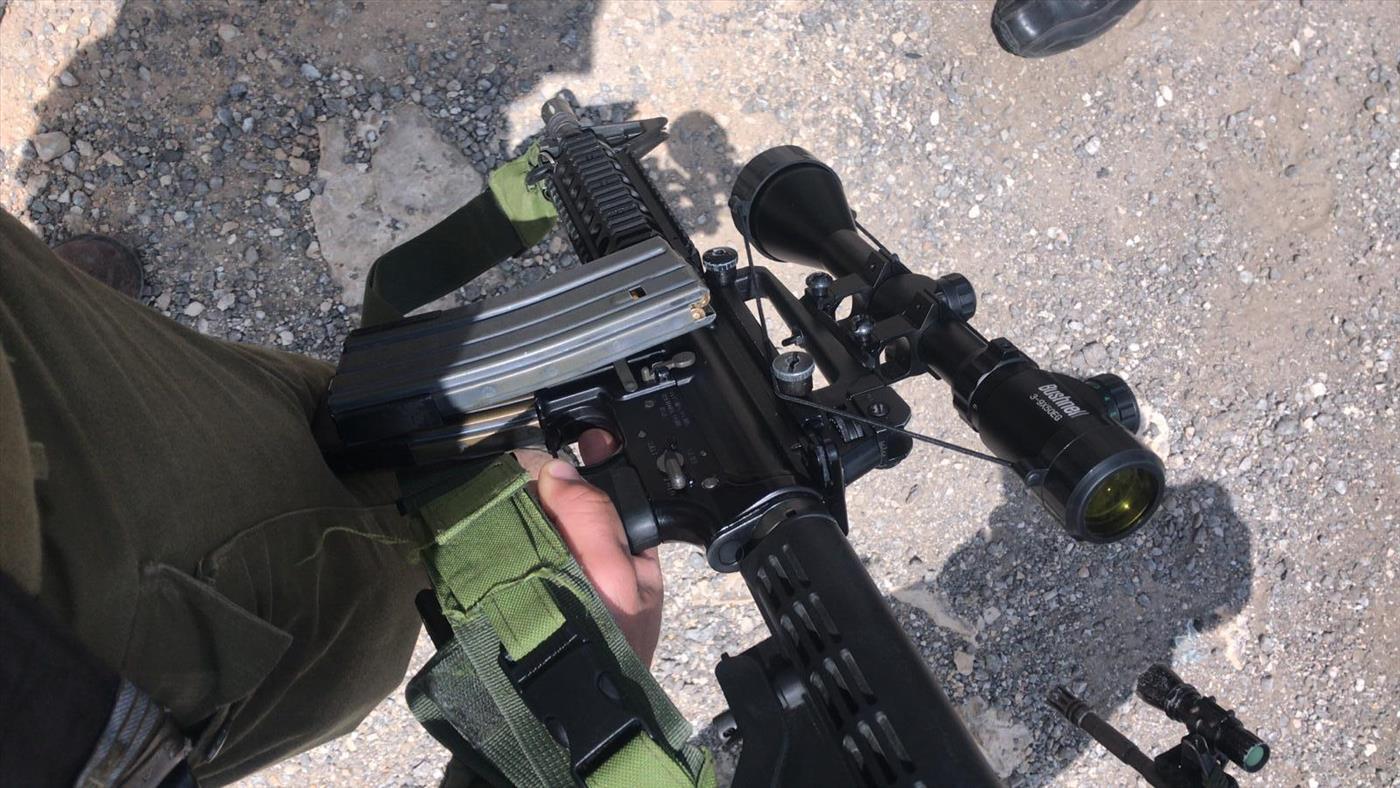 """הרובה שנתפס (צילום: צה""""ל)"""