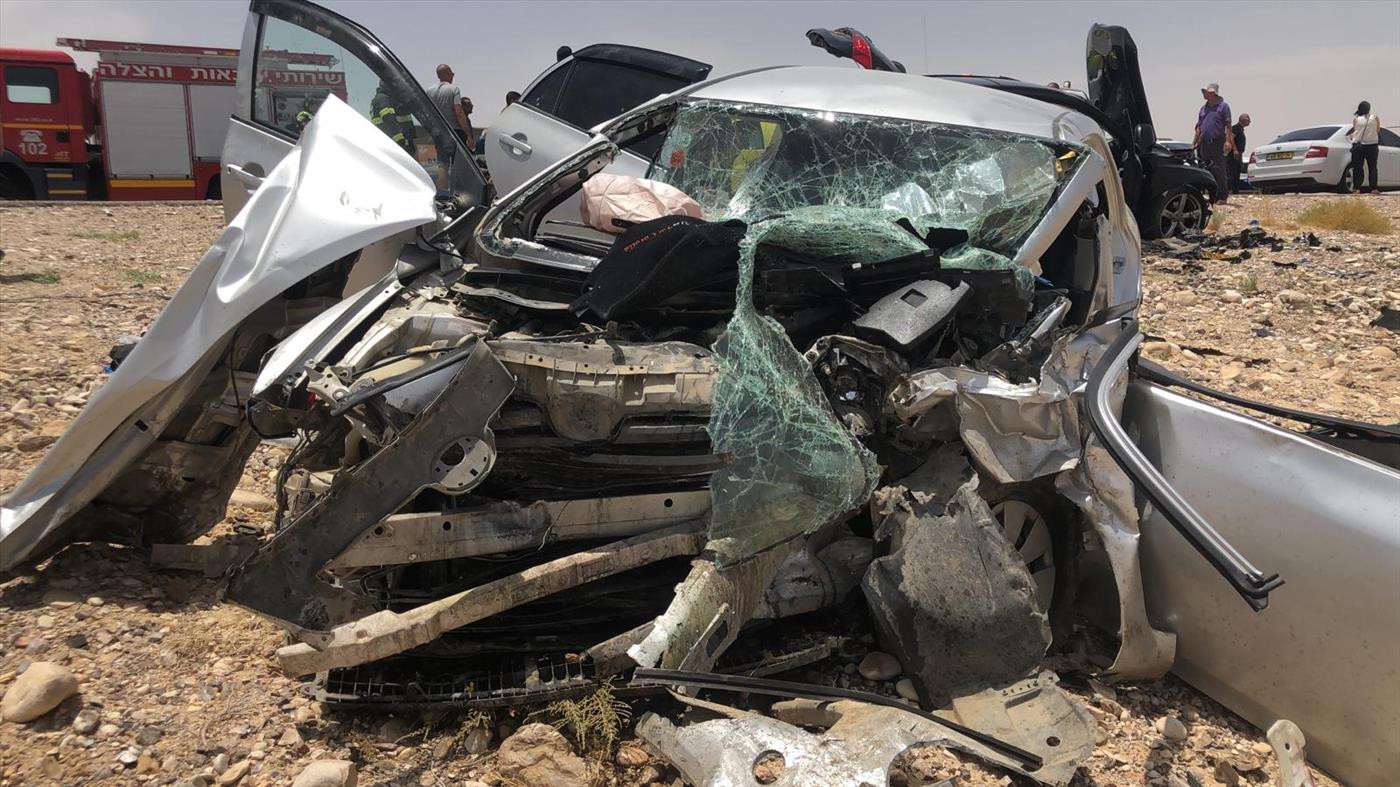 שתי ילדות נהרגו בתאונת דרכים קשה בערבה