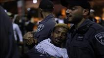 האנרכיסטים רוכבים על מחאת האתיופים
