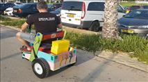 מסיונרים מחלקים מתנות בפארק באשדוד