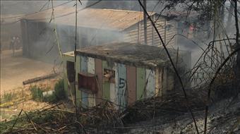 גל שריפות: הישוב שבי שומרון מפונה - פצועים בצפון