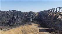 חקלאי אמר 'לא' לפרוטקשיין - 144 גלגלי ההשקיה הוצתו