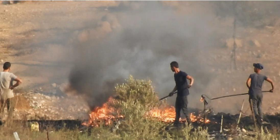 זיהום האוויר בהר חברון  (פורום ישראל ירוקה)