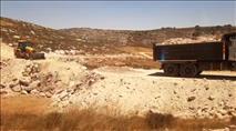 עצרת מחאה כנגד בניית הכפר הערבי