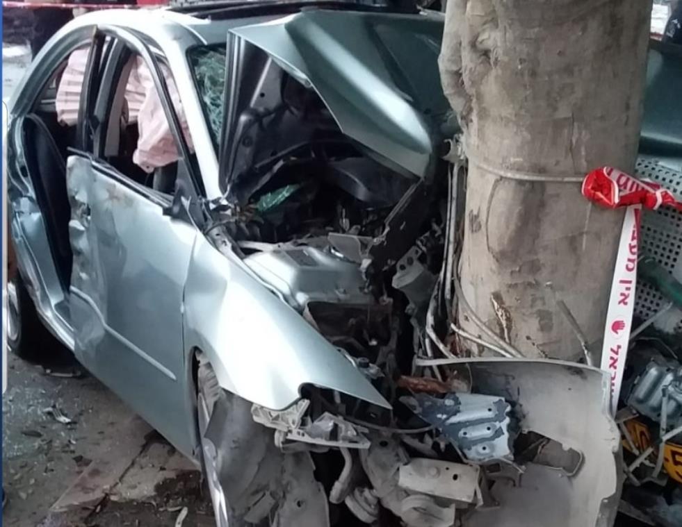 פעם נוספת: יהודיה נפצעה בתאונה כשבילתה עם ערבים