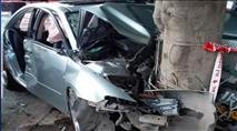 בפעם השניה: יהודיה נפצעה בתאונה כשבילתה עם ערבים
