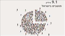 כמה יהודים חיים בישראל וכמה תינוקות נולדו?
