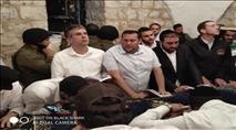 כ-1,000 איש נכנסו להתפלל בקבר יוסף בשכם