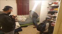 לאחר מעצרו בהר הבית, השוטרים פשטו על ביתו של יהודה גליק