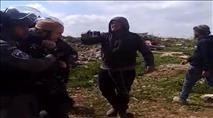 שוטרים מנעו בניית בית כנסת בשומרון