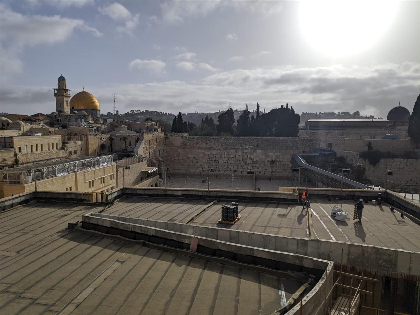 במקום קורבן פסח: סגר מלא ברחבי ירושלים
