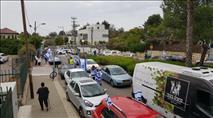 """שיירת מכוניות נגד התנהלות בג""""ץ: """"שודדים לאור יום"""""""