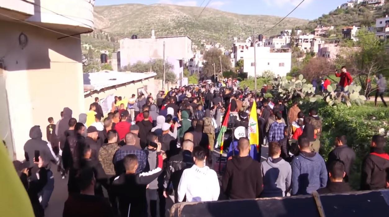 חגיגות שחרור מחבלים, בשבוע האחרון (צילום מסך)