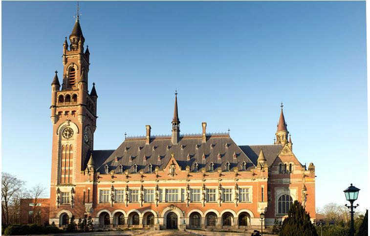 בית הדין הבינלאומי בהאג (צילום מסך, אתר בית הדין)