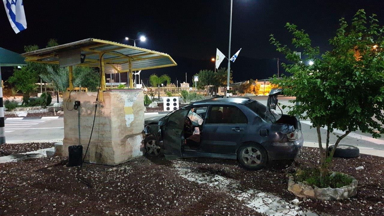 זירת הפיגוע, במחסום ריחן (רשות המעברים)