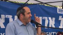 'ממרחק 50 מטר משכונות ירושלים לא יהיה צורך בטילים ומנהרות'