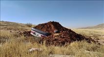 ההרס במעוז אסתר כוחות הביטחון קברו רכב בעפר