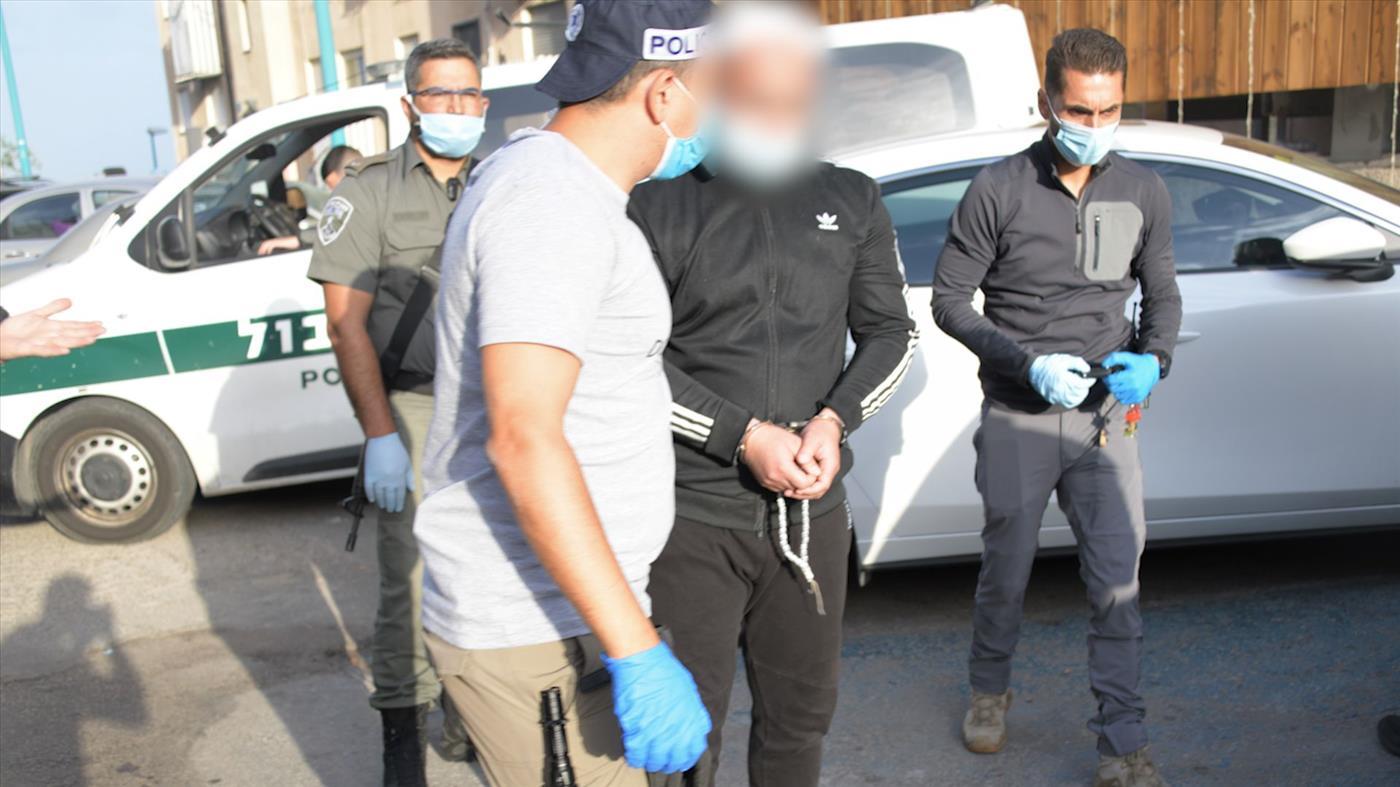 מעצר החשודים בפרוטקשן (משטרת ישראל)