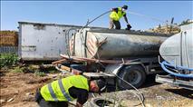 צנרת פיראטית מוסלקת, משאבות ומכליות: כך ערבים גונבים מים בהר חברון