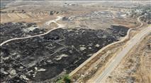 הצתה חמורה באתר המורשת הלאומי סוסיא העתיקה
