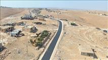 """הרשות הפלסטינית סללה כביש חדש בשטח האש הצה""""לי"""