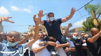 בכפר קאסם קיבלו בכבוד ואהדה את המחבל המשוחרר