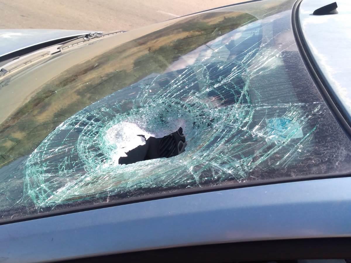 הרכב שנגרם באבנים, סמוך לכוכב השחר (חוננו)