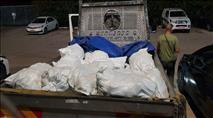 טרור חקלאי ברמת הגולן: גנבו טון לימונים ונתפסו על חם