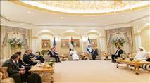 """שליט איחוד האמירויות: """"מחוייבים להקמת מדינה פלסטינית"""""""