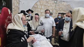 20 שנה אחרי הנטישה - ברית בקבר יוסף