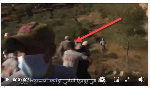 מוחמד חטיב (צילום מסך מחדשות 12 )
