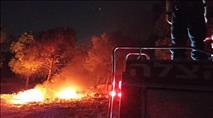 הטרור השקט: שריפה בגוש עציון ונוסעת נפצעה בבנימין