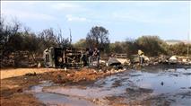 טרור חקלאי בגליל: מכוורת 'פרחי הגליל' נשרפה כליל