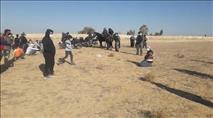 עשרות בדואים הפגינו - המשטרה התקפלה