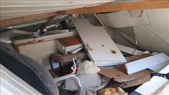 """פינוי בישוב חומש: צה""""ל והמשטרה הרסו בית מדרש וארון קודש"""