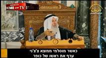 """דרשן בהר הבית: """"כשמוסלמי עורף ראש של כופר - כבוד גדול למוסלמים"""""""