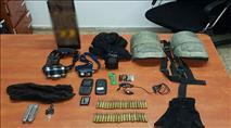 ערבים חדרו לבסיס צבאי, גנבו תחמושת ונתפסו 'על חם'