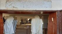 ערבים הסירו את השלט החדש בבית הכנסת העתיק ביריחו