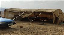 ערבים מקימים כפר חדש במיקום אסטרטגי בבקעה