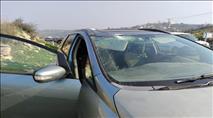 טרור האבנים: נוסעת נפצעה באורח קשה בבנימין