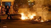המתח בבני ברק: אוטובוס הוצת, כוחות גדולים של משטרה בעיר